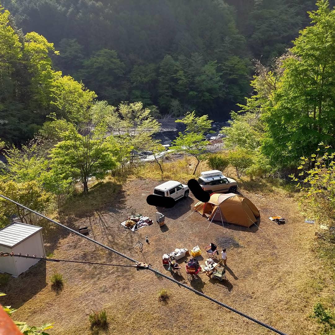 湯の華キャンプ場
