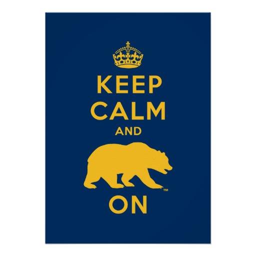 keep calm and bear