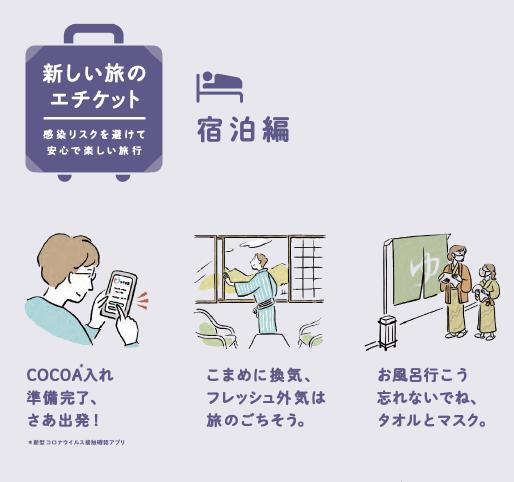 新しい旅のエチケット宿泊編